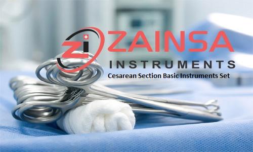 Cesarean Section Basic Instruments Set