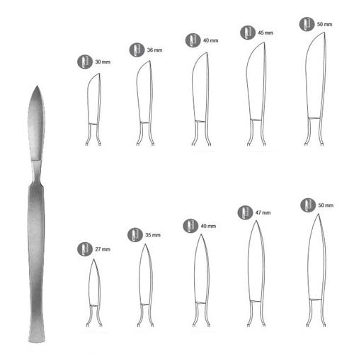 Scalpel Handles - Dissecting Scalpel - Zainsa Instruments