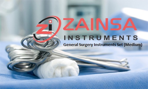 General Surgery Instruments Set (Medium)