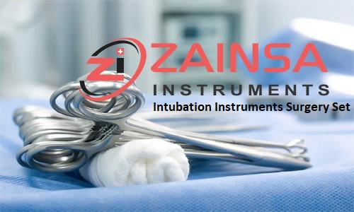 Intubation Instruments Surgery Set