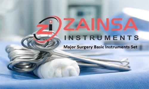 Major Surgery Basic Instruments Set