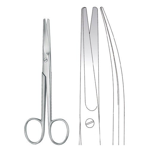 Mayo Scissors Curved 17 cm - Zainsa Instruments