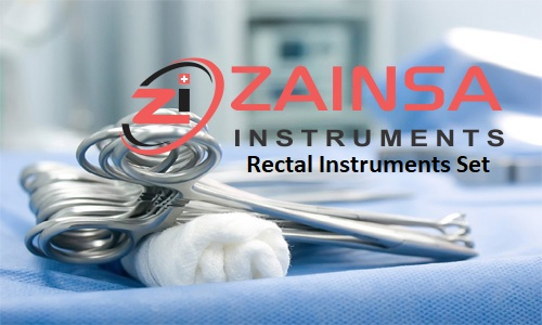 Rectal Instruments Set