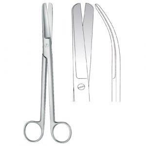 Sims Scissors blunt/blunt Curved - Zainsa Instruments