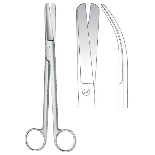 Sims Scissors blunt/blunt Curved 20 cm   Zainsa Instruments
