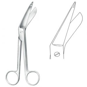 Lister Bandage Scissors - Verbandschere - Zainsa Instruments