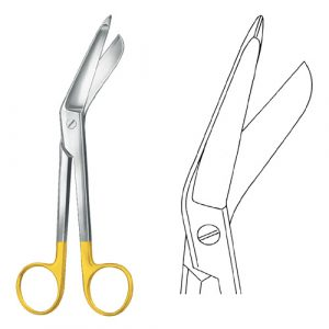 TC Lister Bandage Scissors 18 cm | TC Scissors | Zainsa inst