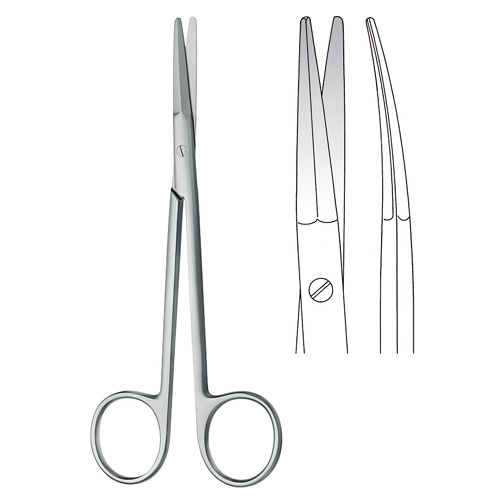 Peck Joseph BL Quality Scissors Curved | Zainsa Instruments