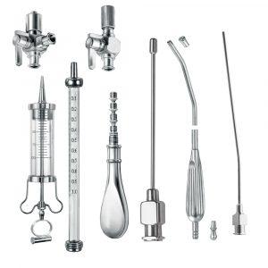 Trocars, suction tubes, Cannulas