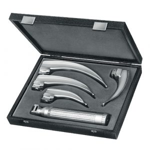 MacIntosh Battery Fiber Optic Laryngoscope Set | Zainsa Instr