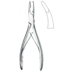 Jansen Bone Rongeur Curved | Bone Rongeurs | Zainsa Instr